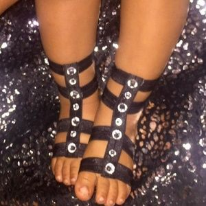 Other - 2 For 8 Gladiator Baby Barefoot Sandals